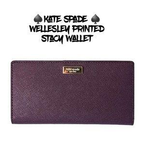 ♠️kate spade♠️Welkesley Printed Stacy Wallet